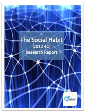 Social Media Research The Social Habit