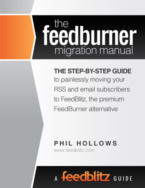 Feedburner to Feedblitz RSS Feed Migration