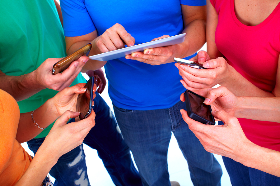 bigstock Human hands with tablet comput 328187451 3 Ways Marketers Can Get More From Their Smartphones
