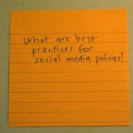 Social Media Policies Best Practices