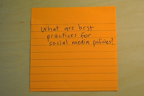 Social Media Policy Best Practices Is Your Social Media Policy Against the Law?