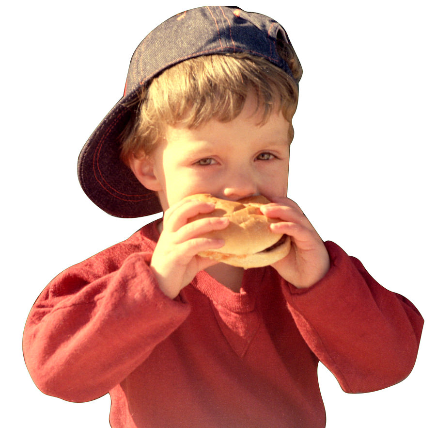 bigstock EATING A HAMBURGER 47411 How McDonalds Handles Thousands of Social Mentions Per Day