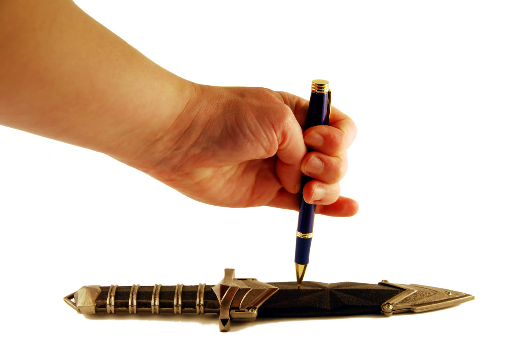 pen is mightier than the swoard 1024x685 10 Content Marketing Must Dos for Brands