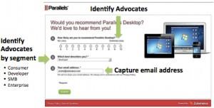 Zuberance social advocate identification process