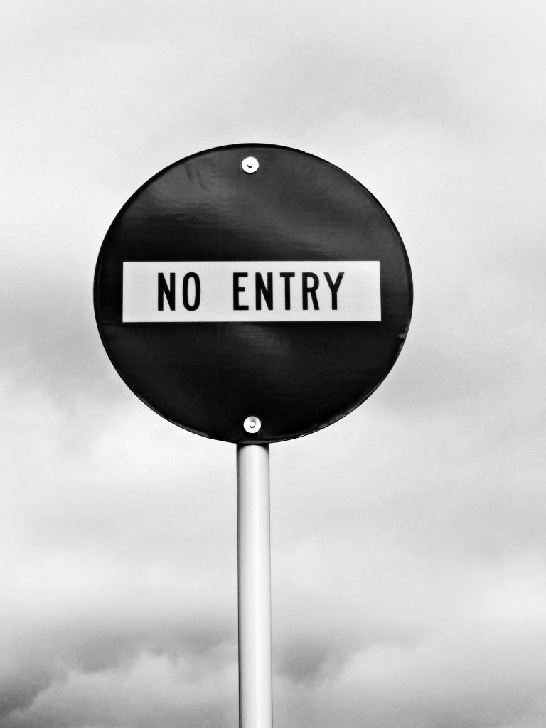 no entry 768x1024 Getting Social Media Strategy Right in Financial Services