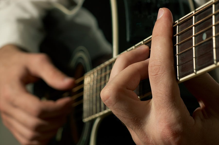 bigstock Musician playing guitar 15340115 Striking a Content Chord with Color Commentary