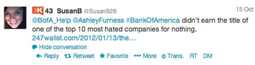 Ashley Susan interaction 4 Customer Service Lessons from the Biggest Brands on Twitter