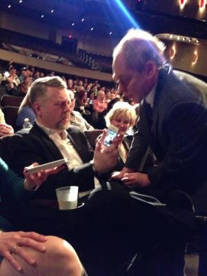 Tom Webster and Teller e1357950322150 How Penn and Teller Turn the Audience Into Social Megaphones