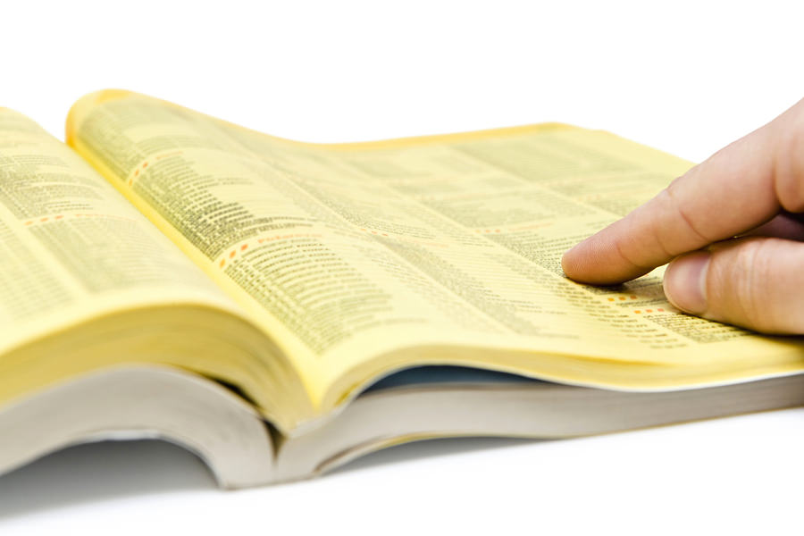 bigstock Yellow Pages Search 18831077 3 Steps to Building a Solid Media List