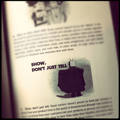 Show, Don't Just Tell