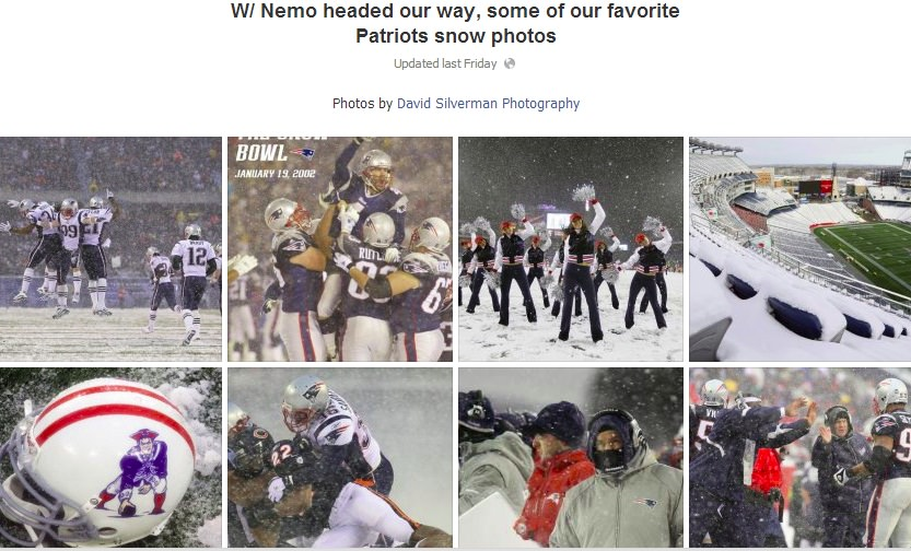 NE Patriots The Boston Red Sox and New England Patriots Spark a Snowstorm of Engagement