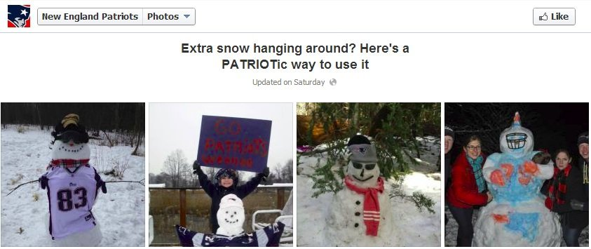 NE Patriots2 The Boston Red Sox and New England Patriots Spark a Snowstorm of Engagement