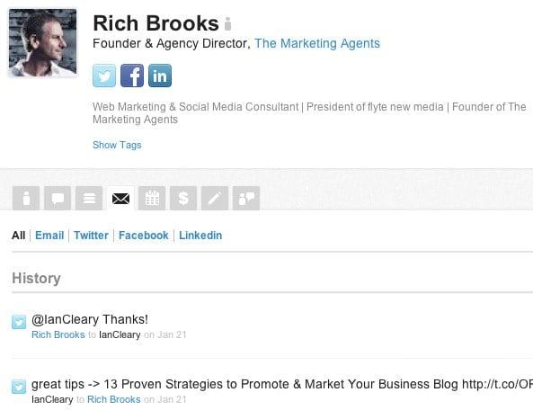 Nimble Profile Record 9 Tools to Improve Social Media Productivity