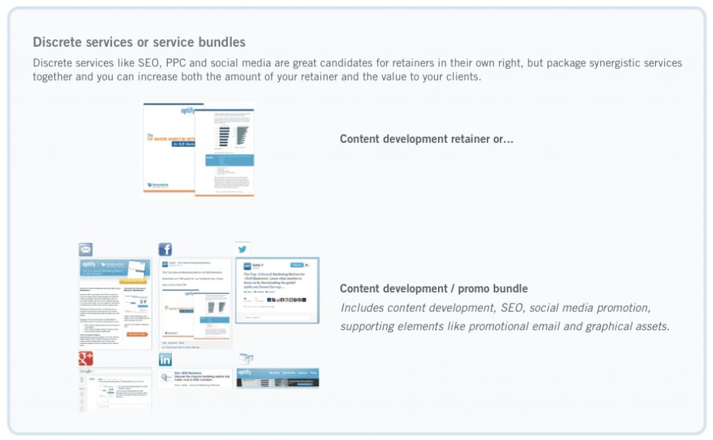 Optify Discrete Services vs. Services Bundle