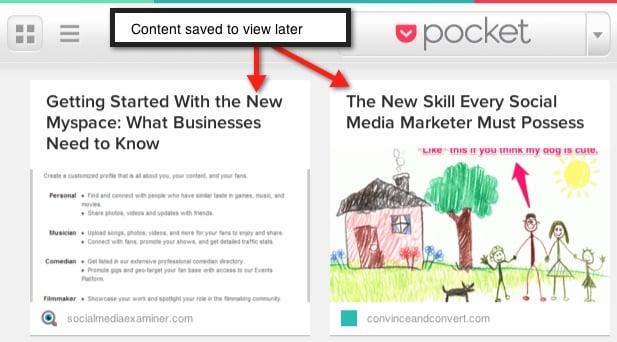 Pocket 9 Tools to Improve Social Media Productivity