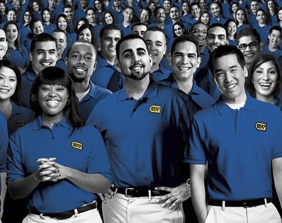 Best Buy Blue-Shirts