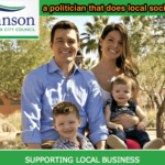 A politician does local social media right