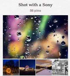 Sony Camera Pinterest