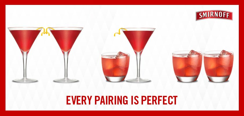 Smirnoff Image Smirnoff: Every Pairing Is Perfect
