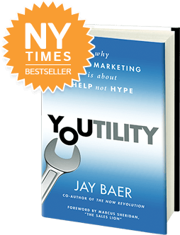 Youtility Cover transparent1 e1365439705647 7 Ways to Use Social Media to Create Buzz Worthy Events