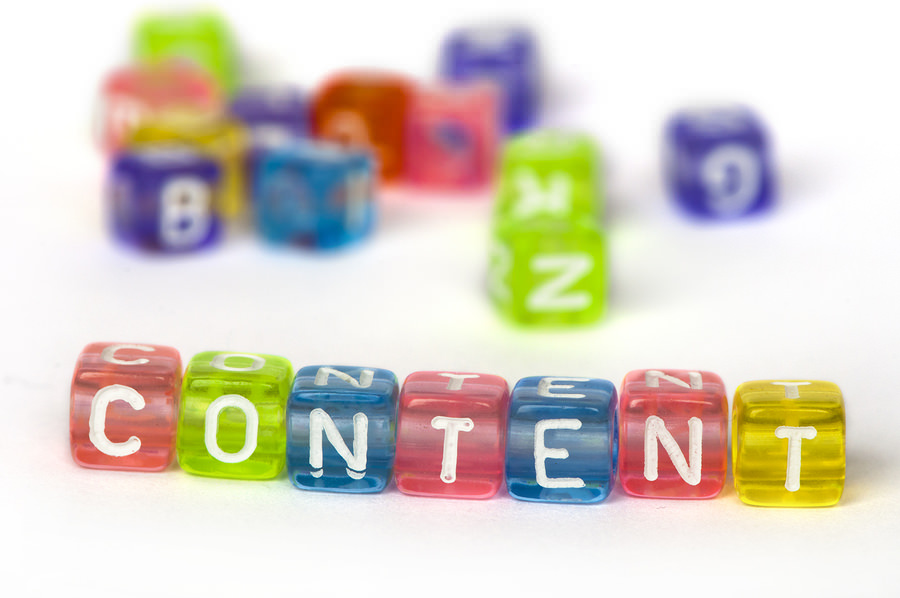 bigstock Text Content On Colorful Woode 29310596 The Biggest, Yet Never Mentioned, Benefit of Content Marketing