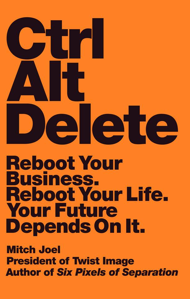CTRL ALT Delete Book Mitch Joel
