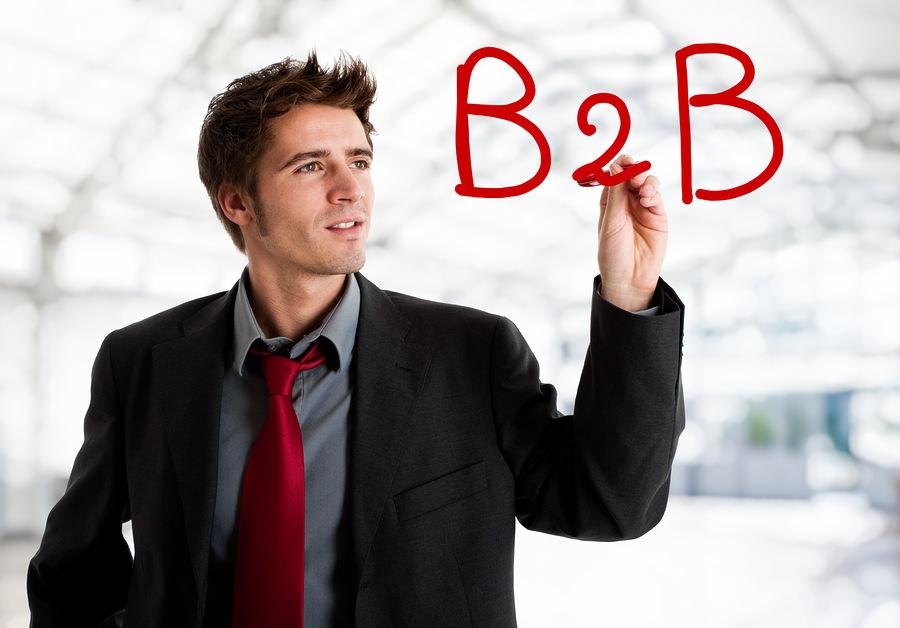 bigstock Business writing B B on the 28825400 4 Fresh Trends in B2B Social Campaigns