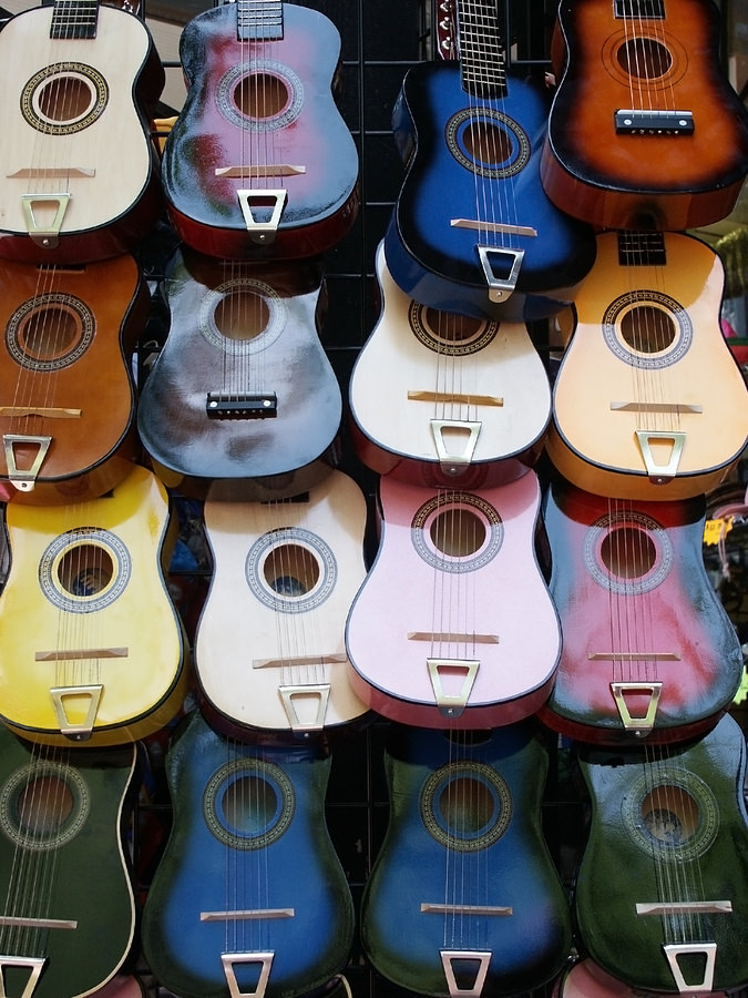 bigstock Colorful guitars great for ba 26643803 Social Notes: How Technology is Giving Music Power to the People