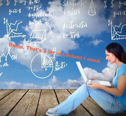 content marketing formula e1372618405191 How Much Content Do You Need? Heres a Formula