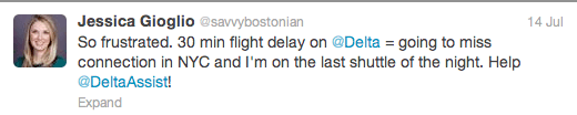 Screen Shot 2013 07 24 at 4.34.37 PM A Social Media Customer Service Win From @DeltaAssist