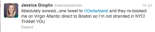 Screen Shot 2013 07 24 at 4.36.39 PM A Social Media Customer Service Win From @DeltaAssist