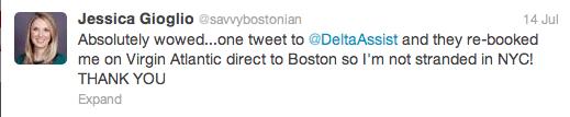 Screen Shot 2013 07 24 at 4.36.39 PM A Social Media Customer Service Win From @DeltaAssist