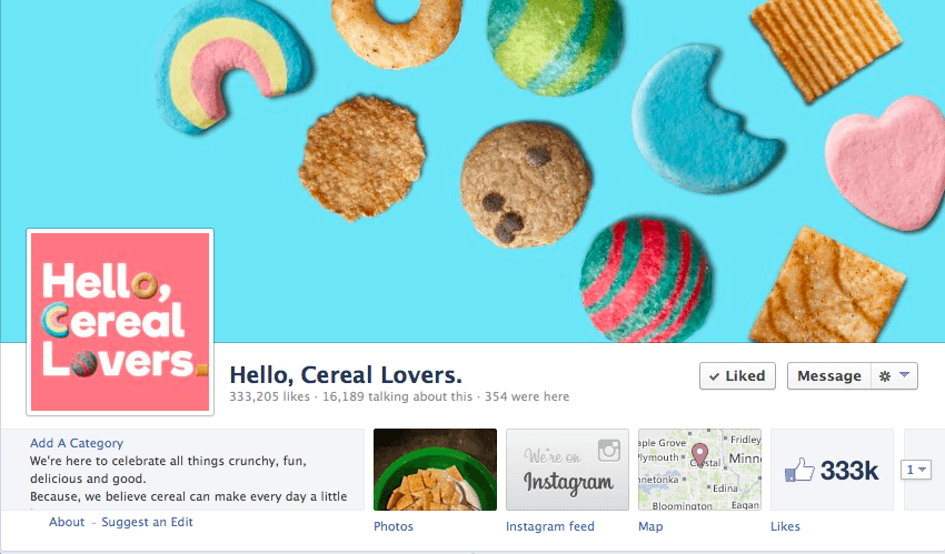 Screen Shot 2013 08 07 at 7.56.43 PM General Mills Embraces Collaborative Storytelling with Hello, Cereal Lovers Social Media Community