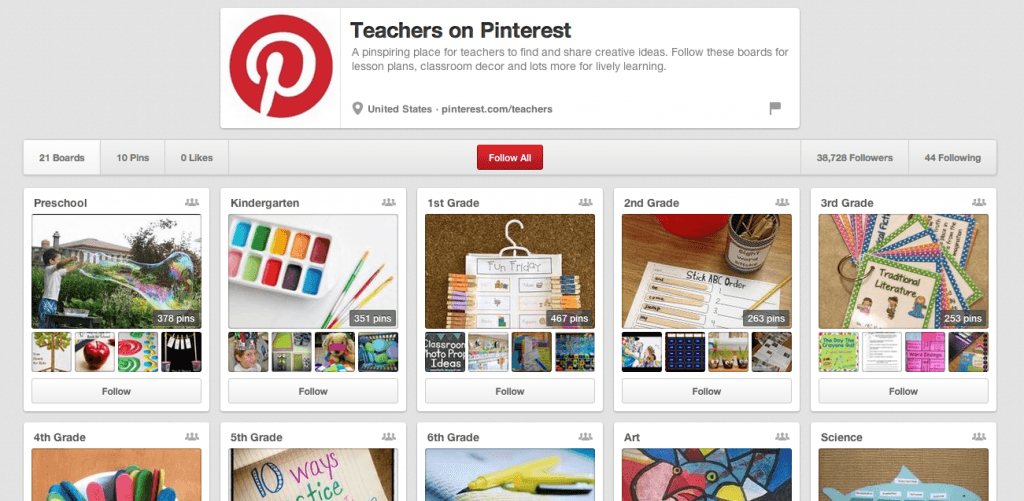 Teachers on Pinterest