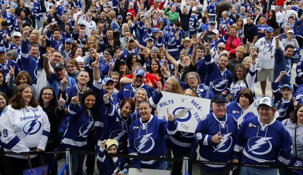 Tampa Bay Lightning Fans