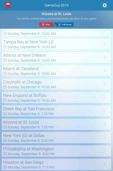 GameGuy App Connected 2 The 1 App Every NFL Fan Needs
