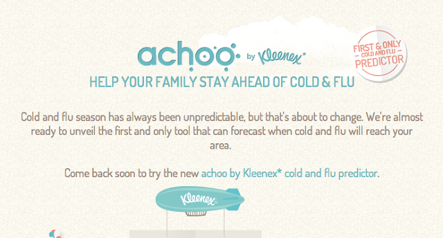 My Achoo Kleenex Creates Youtility by Predicting the Flu