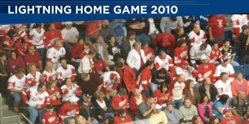Tampa Bay Lightning Home Game, 2010