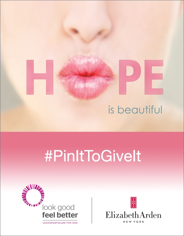 "ElizabethArden2 Elizabeth Arden Brings Back Successful ""Pin It To Give It"" Campaign"