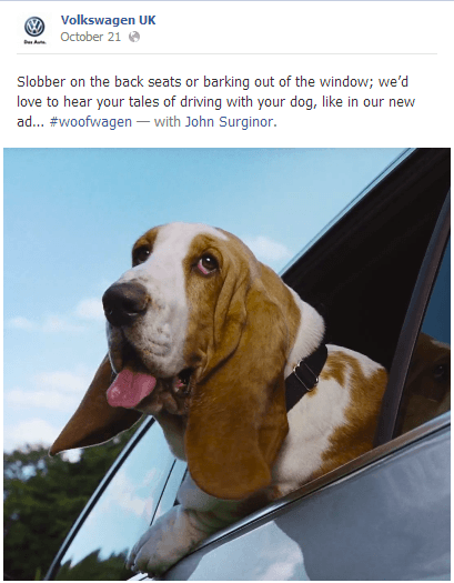 Woofwagen Volkswagen UK Caters to Dog Lovers with New #woofwagen Campaign