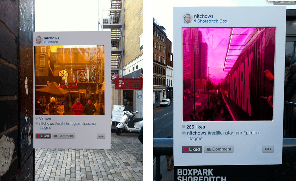 Real Life Instagram 4 Real Life Instagram Project Filters In Unique View of London