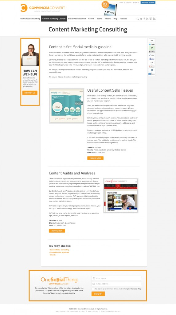 F ConvinceConvert InternalPage Sample 573x1024 What Do You Think of the New Design for Convince and Convert