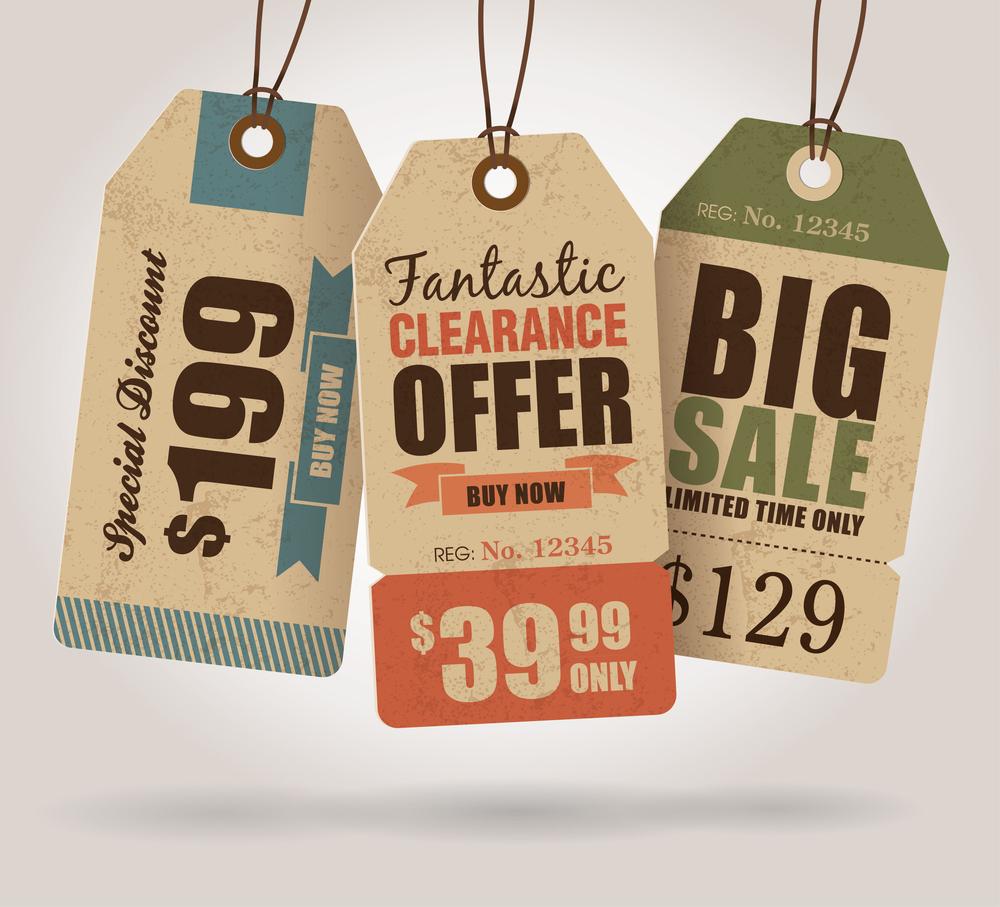 bigstock Vintage Style Sale Tags Design 48210734 Are Facebook Ads a Failure?
