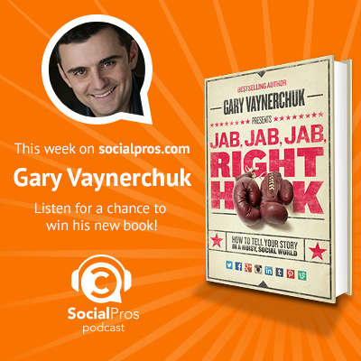 Jab, Jab, Jab, Right Hook - Gary Vaynerchuk on Social Pros Podcast