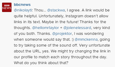 BBCInstafax2 The BBC Experiments With Video News Coverage on Instagram