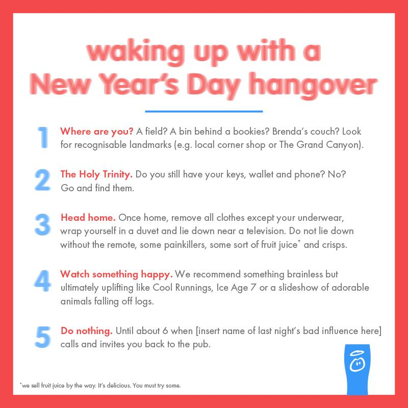InnocentNYEHangover This May Be the Most Daring Holiday Social Media Content Yet