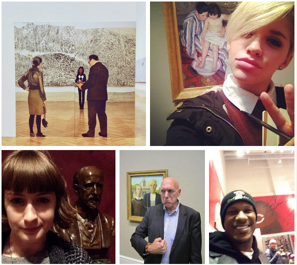 MuseumSelfie 5 Creative Examples of Selfies as Social Media Content