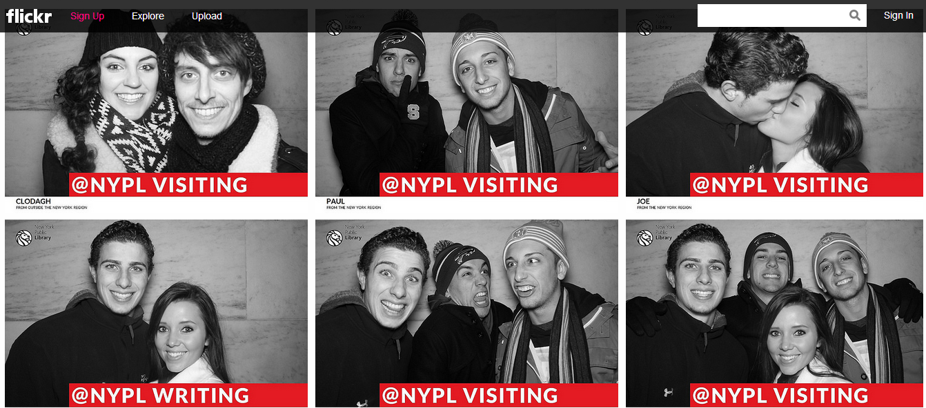 NYPL 5 Creative Examples of Selfies as Social Media Content