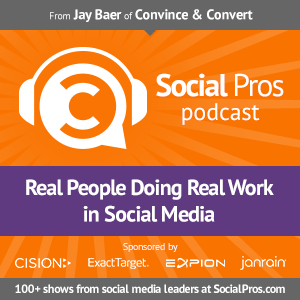 Social Pros Podcast | Real People Doing Real Work in Social Media