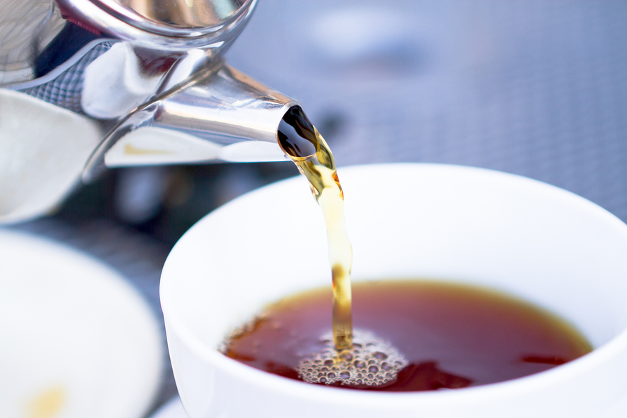 bigstock Pouring Hot Tea From Restauran 28475924 Who Cares What Chris Brogan is Drinking?